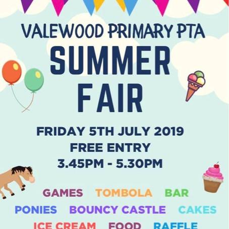 Summer Fair at Valewood Primary in Crosby