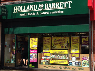 Holland & Barrett is closing down in Formby Village