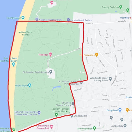 Dispersal Zone introduced Formby yesterday after incidents of antisocial behaviour on Formby Beach
