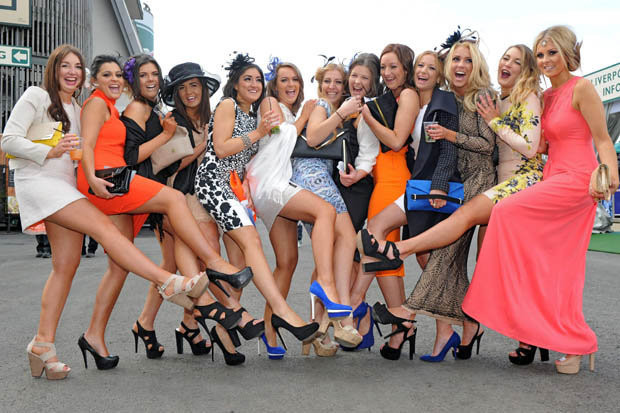 Grand National Ladies Day 2014 - Photo from Daily Star.jpg