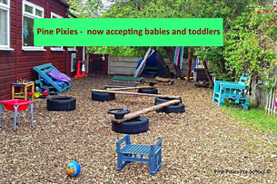 Pine Pixies Pre-School in Formby lowers the admission age to one year old
