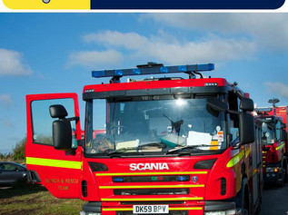 Merseyside firefighters called to over 50% fewer bonfire - related incidents than last year