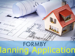 Sefton Council Planning applications in Formby validated and decided week commencing 29th March 2021