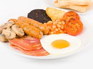 Breakfast break at the Luncheon Club  Saturday 10th March 2018