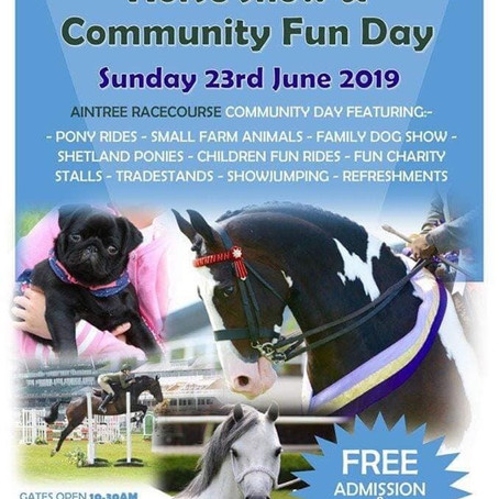 Aintree National Horse Show and Community Fun Day
