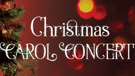 You are invited to a Carol Concert at Trinity Lodge on Lonsdale Road