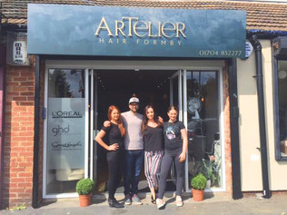 Artelier Hair brings 'French Chic' to Formby