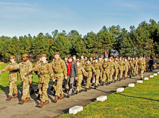 Over eighty local Army Cadets are ready for the challenge of Annual Camp