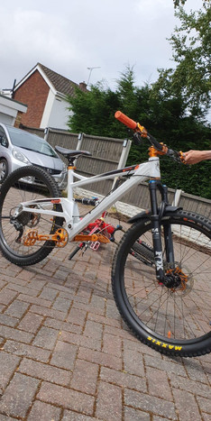 Someone has stole my sons bike that he saved hard for! Please look out for it