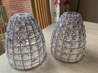 Two light shades for £15