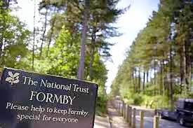 Update and description of animal abuser who was seen beating a puppy at the entrance to Formby Natio