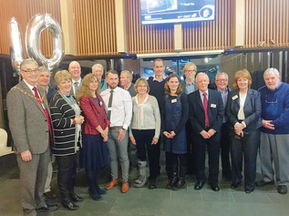 Formby Pool 10th Birthday celebrations and plans for a new Fitness Studio revealed