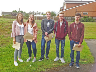 Range High students celebrate record results