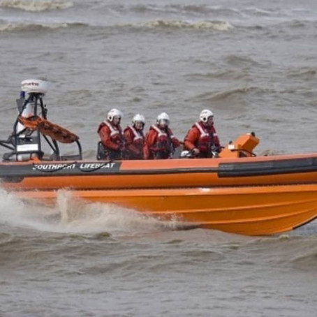Southport Lifeboat tasked to Formby Beach to a person in difficulty in the water