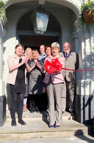 The Mayor of Sefton opened The Cross House Inn after a refurbishment