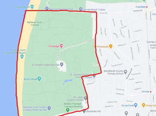 Dispersal Zone introduced in Formby tonight after incidents of antisocial behaviour on Formby Beach