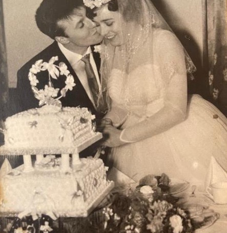 Happy 60th Wedding Anniversary to Mr & Mrs Spence from Crosby