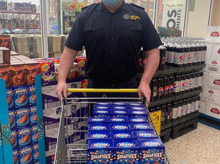 Well done to Merseyside Fire and Rescue Formby who have donated Easter eggs to local hospitals