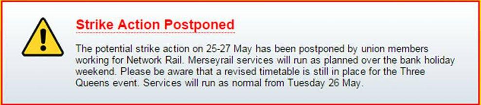 Strike Action Postponed for Three Queens.....jpg