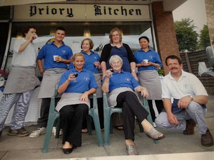 Priory Kitchen closed it's doors after 36 years on Saturday but continues to run the catering si