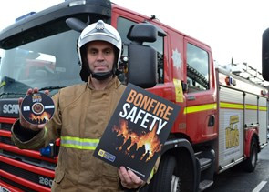 Merseyside Fire & Rescue Service urges Safety over bonfire period