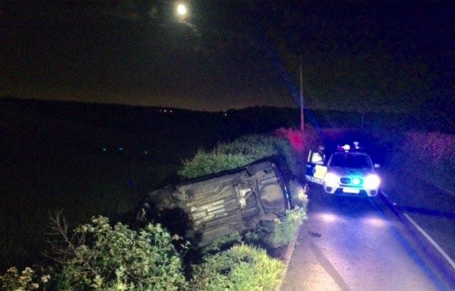 car overturned-pheasant-Formby.jpg