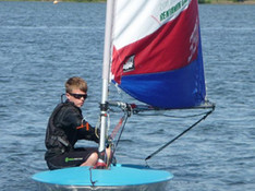 Samuel Cooper, aged 12, wins the RYA West Zone Championship