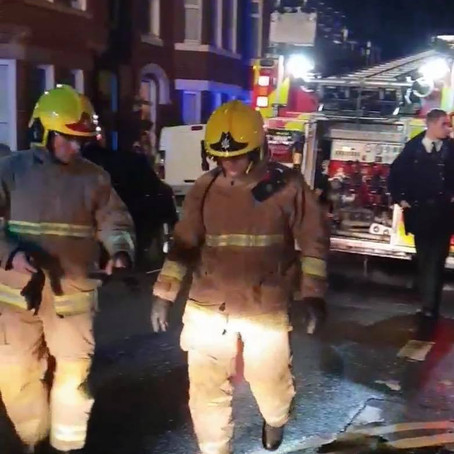 Hero neighbours battle a blaze after chilling attack in Waterloo
