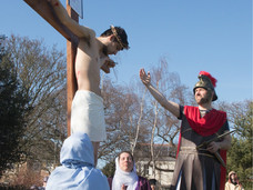 Good Friday Walk of Witness and Passion Play comes to Formby