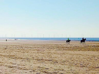 National Trust Formby give information for Horse Riders this Easter