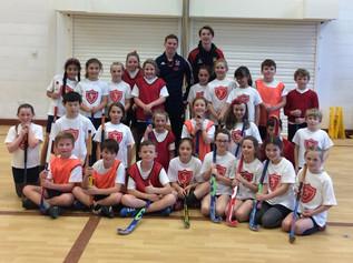 Rio hockey star visits Formby primary schools