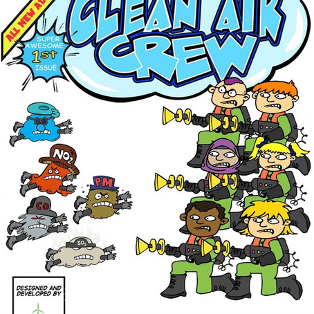 The Clean Air Crew is coming to a school near you with free air quality education across Sefton