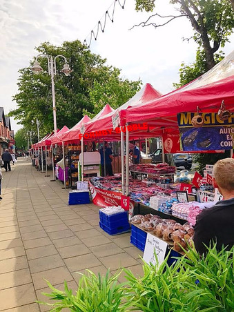 Formby Weekly Market is back on Friday 3rd May in Formby Village