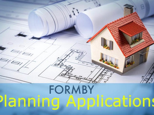 Sefton Council Planning applications for Formby - week commencing 22nd March 2021