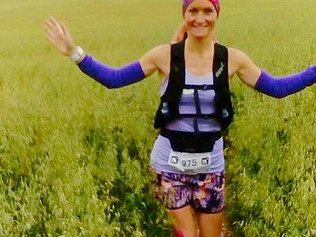 Formby mum ran 100k in the 'Race to the Stones' for Woodlands Primary School