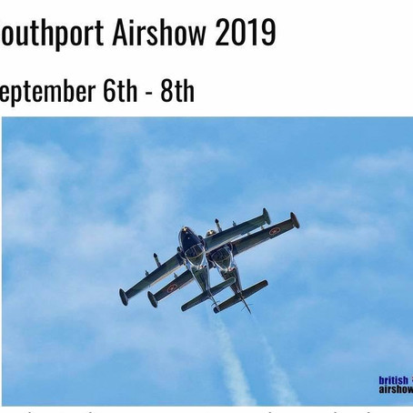The 2019 Southport Air Show timetables