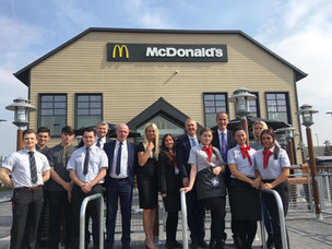 The new McDonald's in Formby will be opening its doors at 11am tomorrow- Wednesday 17th April