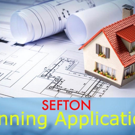 Sefton Council Planning Applications validated and decided week commencing 29th March 2021