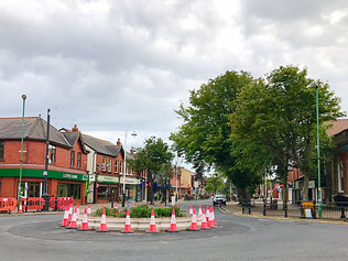 The new village roundabout is almost done but, it will have to close completely before it can be fin