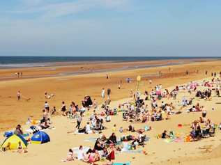 Wall to wall sunshine so Formby is expected to be extremely busy with car parks full - Top Tips here