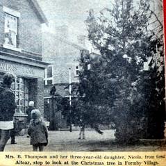 Formby Christmas Tree was originally in Duke Street Park