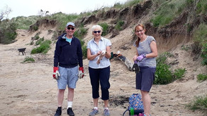 Huge well done to the Hightown Beach Clean group making a huge difference on behalf of residents