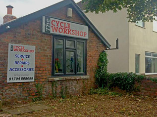 The Cycle Workshop in Formby has closed down