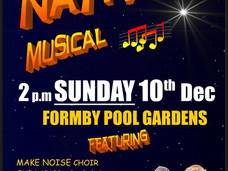 Formby Nativity the Musical is on TODAY - Sunday 10th December at 2pm