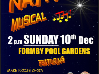 Formby Nativity goes Musical on Sunday 10th December