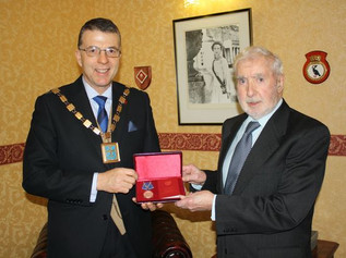 Formby WWII hero, 94yr old Harold Walker, receives high Russian honour