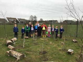 Redgate School celebrate Grandparent Gardening Week