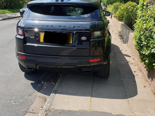 Police issued 113 parking tickets in Formby today for parking offences that happen every sunny day