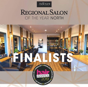 Artelier hair Formby have been shortlisted in the National Finals of The Hair Awards 2019