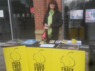 Fundraising event this weekend for Frack Free Formby
